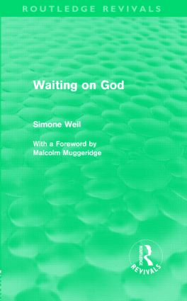 Waiting on God (Routledge Revivals): 1st Edition (Hardback) book cover