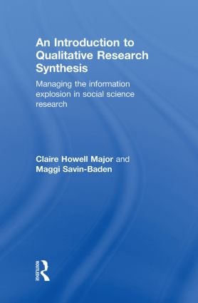 Analysing, synthesizing and interpreting studies