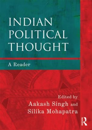 Indian Political Thought: A Reader, 1st Edition (Paperback) book cover