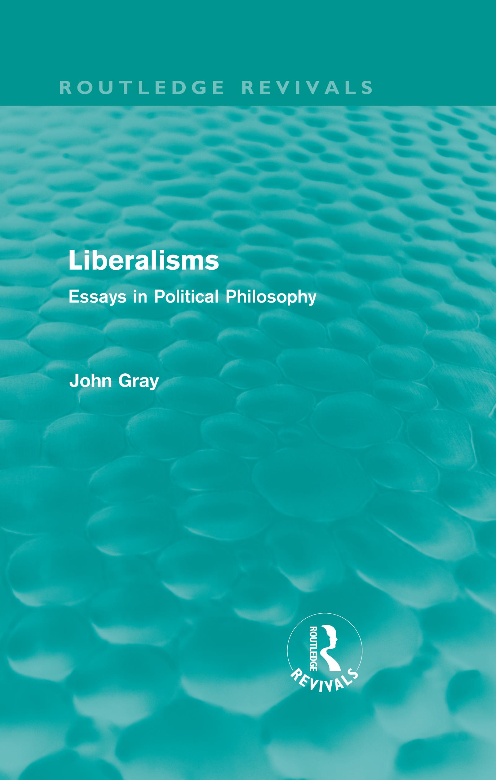 Liberalisms (Routledge Revivals)