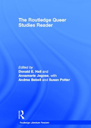 The Routledge Queer Studies Reader (Hardback) book cover
