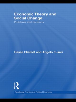 Economic Theory and Social Change: Problems and Revisions (Hardback) book cover