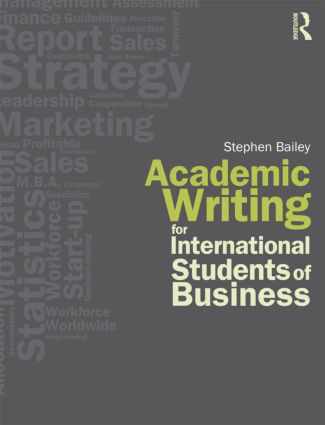 Academic Writing for International Students of Business (Paperback) book cover