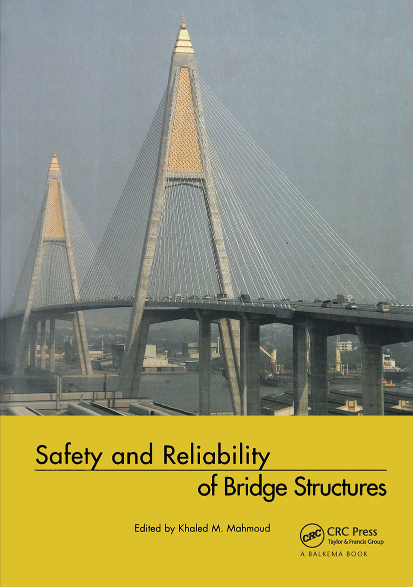 Safety and Reliability of Bridge Structures: 1st Edition (Hardback) book cover