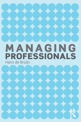 Managing Professionals: 1st Edition (Paperback) book cover