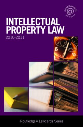 Intellectual Property Lawcards 2010-2011