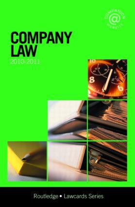 Company Lawcards 2010-2011