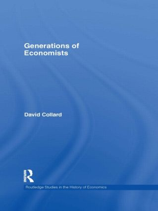 Generations of Economists (Hardback) book cover