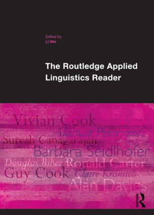 The Routledge Applied Linguistics Reader (Paperback) book cover