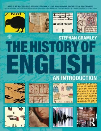 The History of English: An Introduction (Paperback) book cover