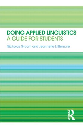 Doing Applied Linguistics: A guide for students (Paperback) book cover