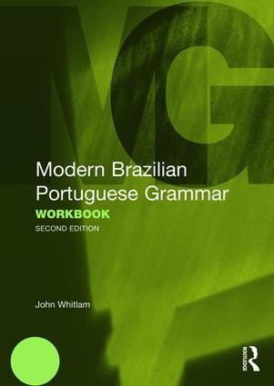 Modern Brazilian Portuguese Grammar Workbook (Paperback) book cover