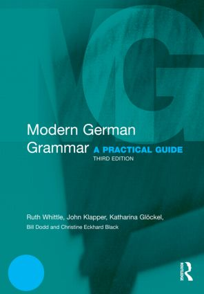 Modern German Grammar: A Practical Guide book cover