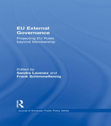 EU External Governance: Projecting EU Rules beyond Membership (Hardback) book cover