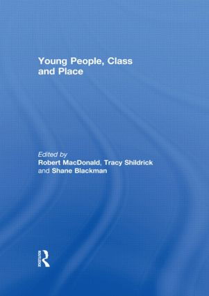 Young People, Class and Place (Hardback) book cover