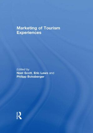 Marketing of Tourism Experiences (Hardback) book cover
