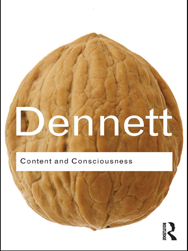 Content and Consciousness (Paperback) book cover