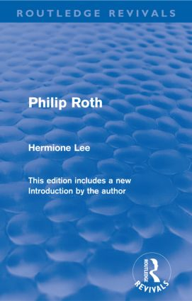 Philip Roth (Routledge Revivals) (Paperback) book cover