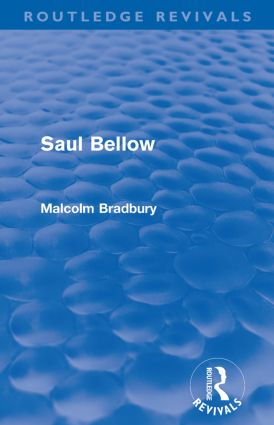 Saul Bellow (Routledge Revivals): 1st Edition (Paperback) book cover