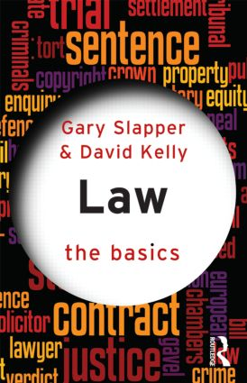 Law: The Basics (Paperback) book cover