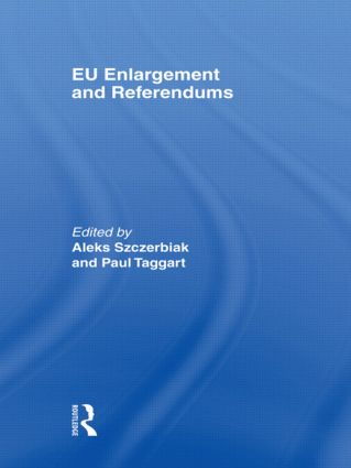 EU Enlargement and Referendums book cover