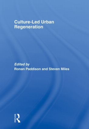 Culture-Led Urban Regeneration: 1st Edition (Paperback) book cover