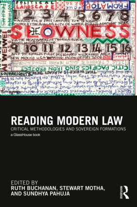 Reading Modern Law: Critical Methodologies and Sovereign Formations (Hardback) book cover