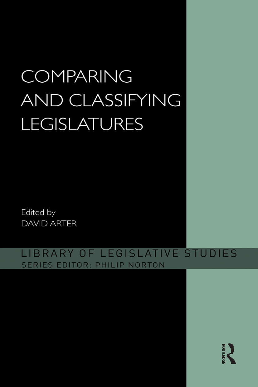 Comparing and Classifying Legislatures (Paperback) book cover