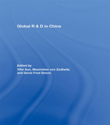 Global R&D in China: 1st Edition (Paperback) book cover