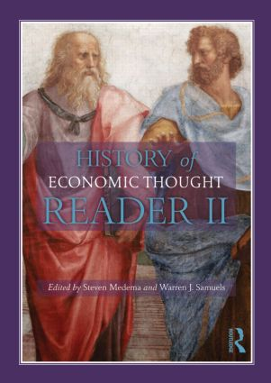 The History of Economic Thought: A Reader; Second Edition, 2nd Edition (Paperback) book cover