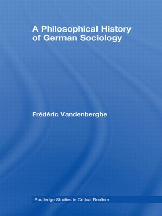 A Philosophical History of German Sociology book cover