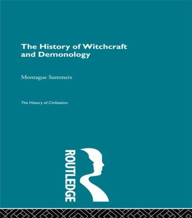 The History of Witchcraft and Demonology (Paperback) book cover