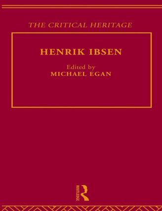 Henrik Ibsen: 1st Edition (Paperback) book cover