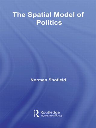 The Spatial Model of Politics (Paperback) book cover