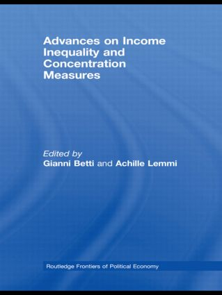 Advances on Income Inequality and Concentration Measures (Paperback) book cover
