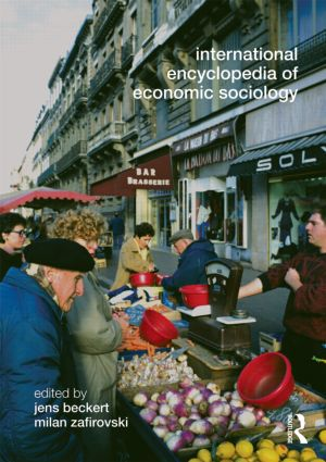 International Encyclopedia of Economic Sociology (Paperback) book cover