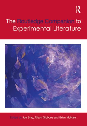 The Routledge Companion to Experimental Literature (Hardback) book cover