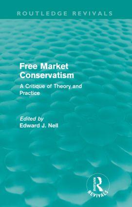 Free Market Conservatism (Routledge Revivals)