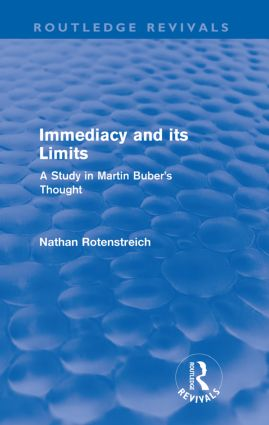 Immediacy and its Limits (Routledge Revivals)