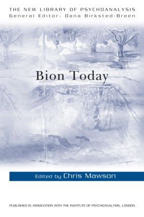 Bion Today (Paperback) book cover