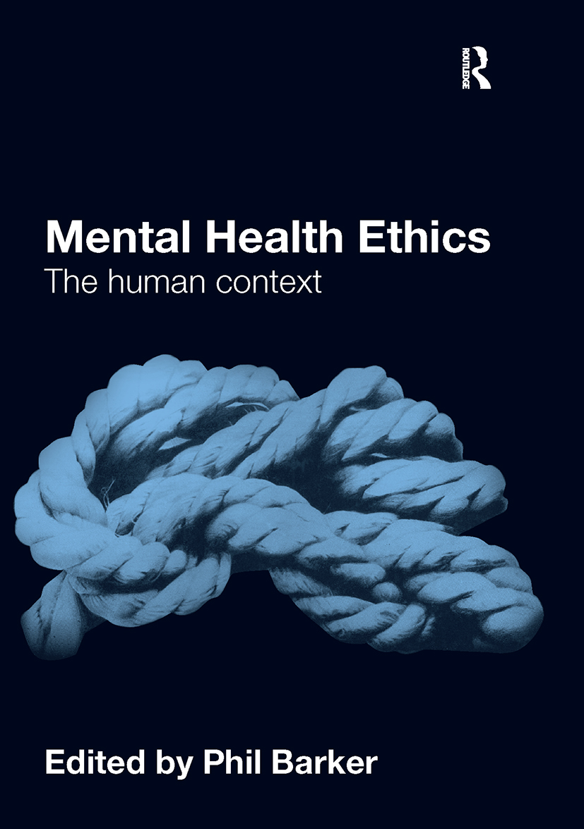 Mental Health Ethics: The Human Context (Paperback) book cover
