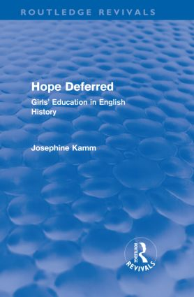 Hope Deferred (Routledge Revivals)