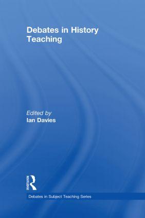 Debates in History Teaching book cover