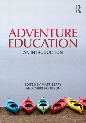 Adventure Education: An Introduction (Paperback) book cover
