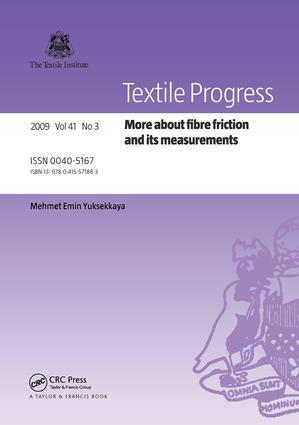 More about Fibre Friction and its Measurements: 1st Edition (Paperback) book cover