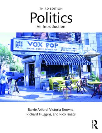 Politics: An Introduction, 3rd Edition (Paperback) book cover
