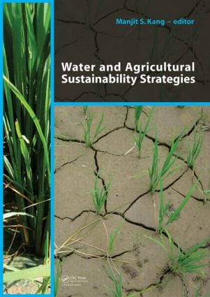 Water and Agricultural Sustainability Strategies: 1st Edition (Paperback) book cover