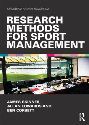 Research Methods for Sport Management (Paperback) book cover