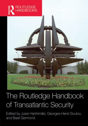 The Routledge Handbook of Transatlantic Security (Hardback) book cover