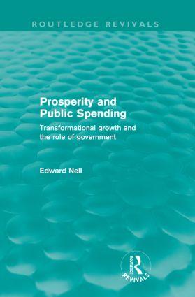Prosperity and Public Spending (Routledge Revivals)